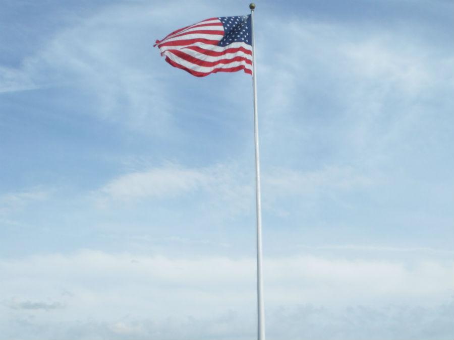 アメリカの星条旗